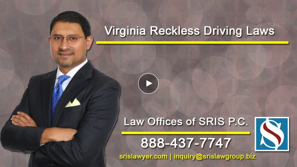 Reckless Driving Lawyer In Virginia