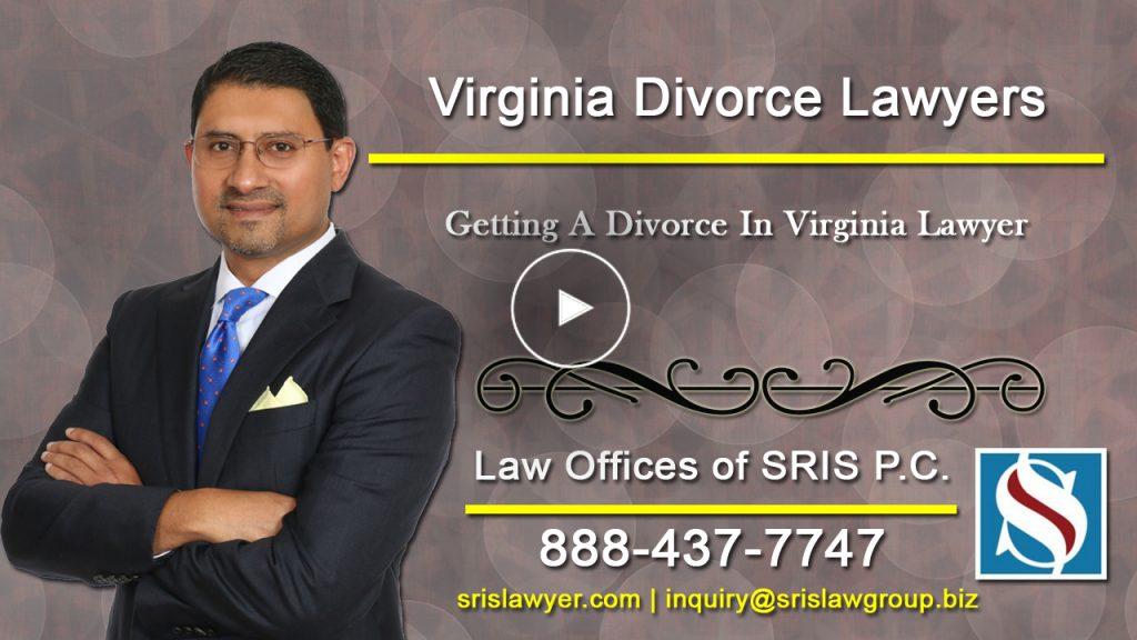 Getting Divorce VA Lawyer
