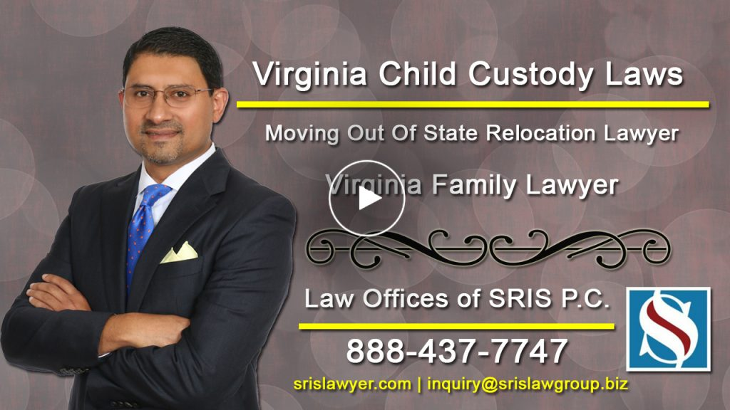 Virginia Child Custody Laws Moving Out Of State Relocation