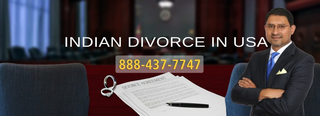 Indian Divorce in USA