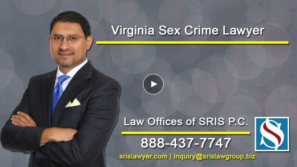 Virginia Sex Crime Lawyer