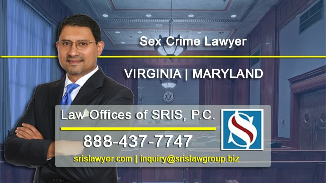 Sex Crime Lawyer VA MD