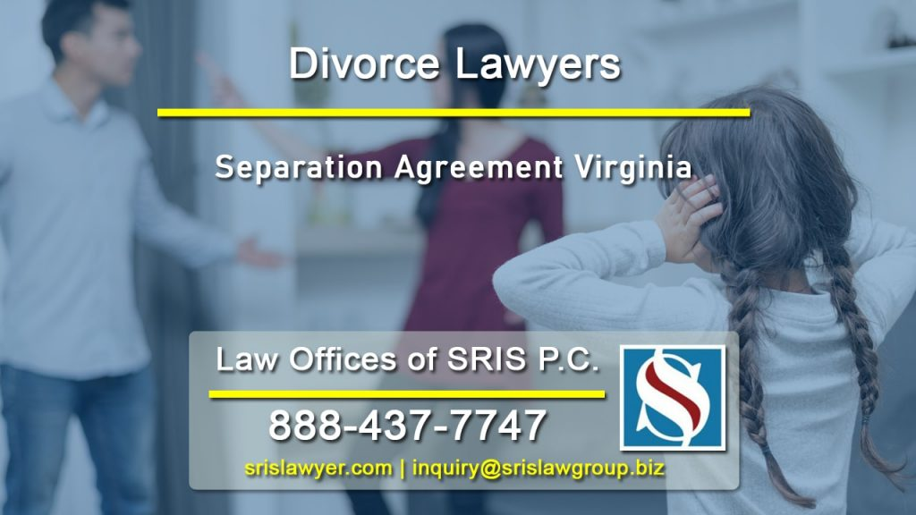 Separation Agreement Virginia Lawyers