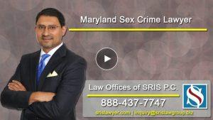 Maryland Sex Crimes Lawyer