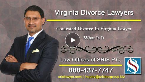 Contested Divorce VA Lawyer
