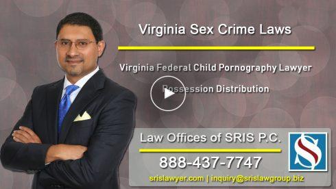 VA Federal Child Pornography Lawyer Possession Distribution
