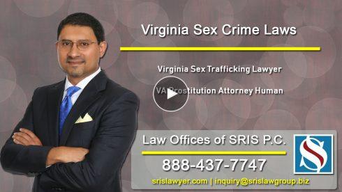 VA Sex Trafficking Lawyer VA Prostitution Attorney Human